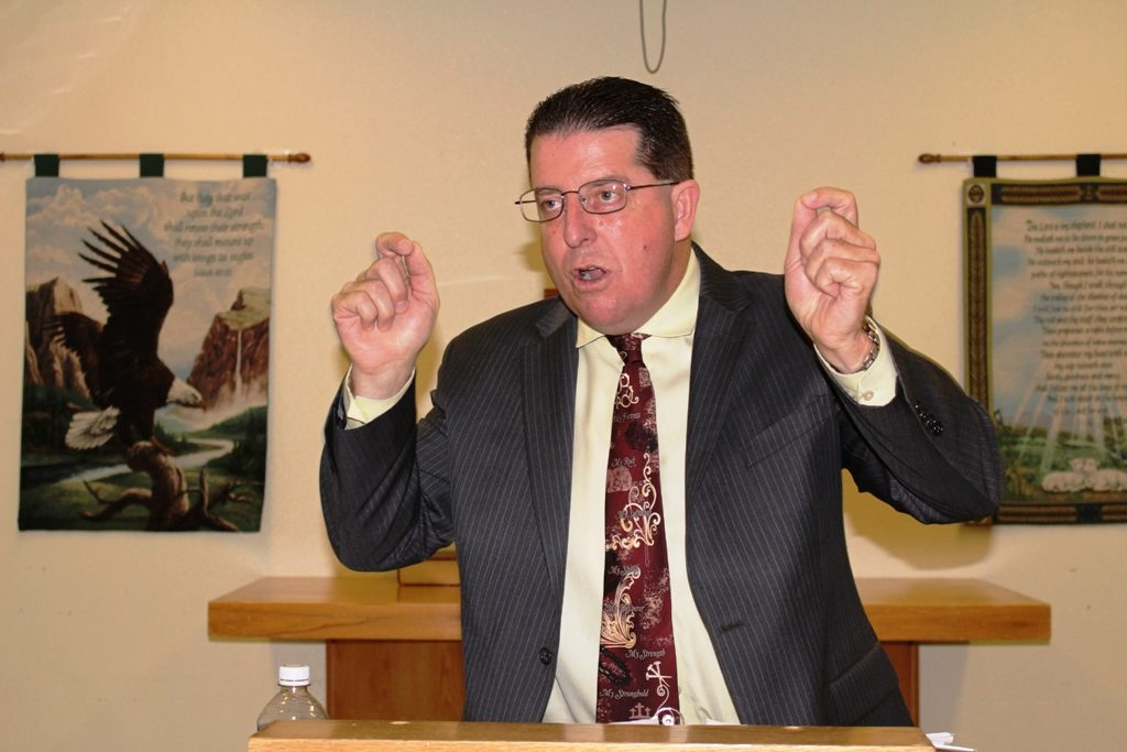 Chris Mullen Preaching